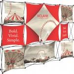 Xclaim 10ft Fabric Popup Display Kit 06 Custom Imprinted