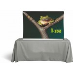 Arch Frame Fabric Table Top Backdrop Logo Branded