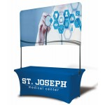 Custom Imprinted 8' Table Top Double Sided Billboard Banner (Half Height)