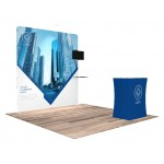 Custom Printed 10'x10' Quick-N-Fit Booth - Package # 1109