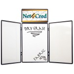 6' Show 'N Write Display (with Header Graphic Panel) Logo Branded