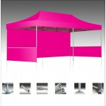 V3 Premium Aluminum Tent Frame w/ Pink Top (10'x20') Logo Branded