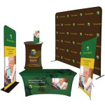 Logo Branded Trade Show Booth Display - Superior Package