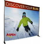 Custom Imprinted Economy Adjustable Frame & Fabric Backdrop