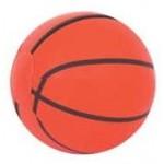"4"" Inflatable Basketball Logo Branded"