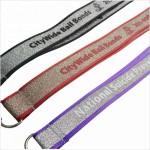 Custom Imprinted Glitter Lanyards