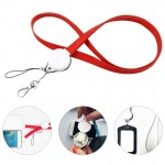 3 In 1 Lanyard Charging Cable Keychain Custom Printed