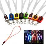 Light Up LED Lanyard Custom Printed