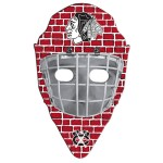 Custom Imprinted Hockey Mask Hand Fan Without Stick