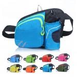Custom Imprinted Sports Waist Bag with Water Bottle Holder