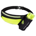 Custom Imprinted Neoprene Fitness Waist Bag w/Bottle