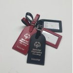 Custom Imprinted Medium Rounded Top Luggage Tag