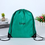 Custom Printed Non-Woven Drawstring Polyester Bag