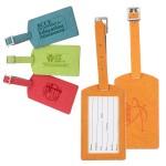 Custom Printed iPosh PU Leather Luggage Tag