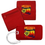 DigiPrint Luggage Tag - 3 in One Band Combo Logo Branded