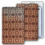 Custom Imprinted Lenticular Changing Colors Snake Skin Luggage Tag (Imprinted)