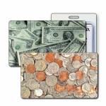 Custom Printed 3D Lenticular Coins/Dollar Bills Stock Image Luggage Tag (Imprinted)
