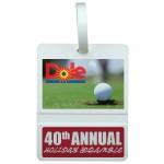 Custom Printed Golf Bag Tag - Rectangle