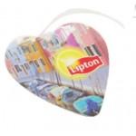 Heart Luggage Tag Custom Imprinted