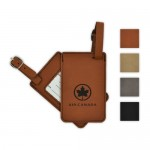 """Leatherette Luggage Tag - Rectangle (4.25""""x2.75"""") Logo Branded"""