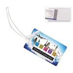 "Custom Imprinted ""Thunderbolt Pl"" ID Slip-In Pocket Luggage Bag Tag (PhotoImage Full Color)"