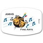 """Logo Branded Full Color Write On Tag (Rectangle 3.125""""x4.625"""")"""