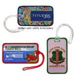 Custom Imprinted Embroidered Luggage Tags