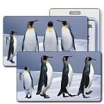 Custom Imprinted 3D Lenticular Luggage Tag (Full Custom Designed)