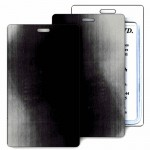 Lenticular Black/Gray Changing Color Luggage Tag (Imprinted) Custom Printed