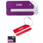 Metal Luggage ID Tag Custom Imprinted