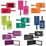 Deluxe Luggage Tag Logo Branded