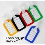 Logo Branded Plastic Luggage Tags