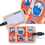 Your Custom 2-D Luggage Tag Custom Imprinted