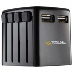 SKROSS World Travel USB Charger Adapter Custom Imprinted