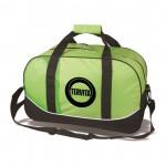 Logo Branded The Journeyer Travel Bag - Lime Green