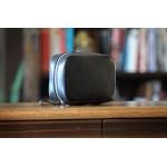 Tech Carry Case Calf w/Vachetta Leather Trim - Onyx Logo Branded