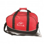 The Journeyer Travel Bag - Red Logo Branded