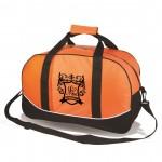 The Journeyer Travel Bag - Orange Logo Branded