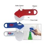 Pizza Cutter W/Bottle Opener Logo Branded