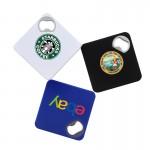 ValuePlus Square Coaster and Bottle Opener: Logo Branded