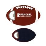 Football Coaster Bottle Openers Custom Imprinted
