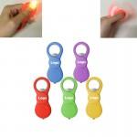 Multifunction Hand Finger Spinner Bottle Opener With LED Light Custom Imprinted
