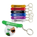 Logo Branded Skateboard Bottle Opener with key chain-Close out