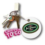Logo Branded Gripper-To-Go Vinyl Jar Opener