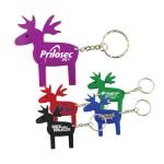 Custom Imprinted Reindeer Key Tag