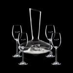 Logo Branded Henkel Carafe & 4 Wine