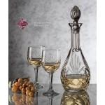 Custom Imprinted Cavanaugh Wine Decanter & 4 Wine Glasses
