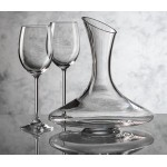 Custom Imprinted Madagascar Carafe & 4 Wine Glasses
