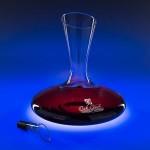 Logo Branded 43 Oz. Renata Glass Wine Decanter