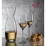 Hemlock Carafe & 4 Wine Glasses Custom Engraved